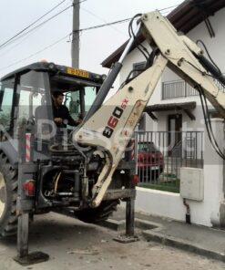 Buldoexcavator cu picon de inchiriat in Bucuresti Terex 860SX