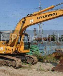 Excavator cu senile de inchiriat in Bucuresti Hyundai R210-7