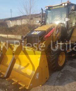 Buldoexcavator Caterpillar 428F de inchiriat in Timis